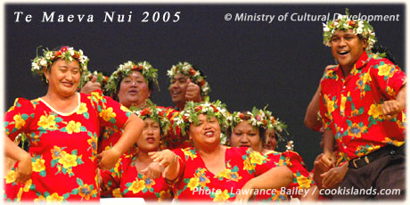 Ute performed by Mauke dance group (click photo for printable resolution)