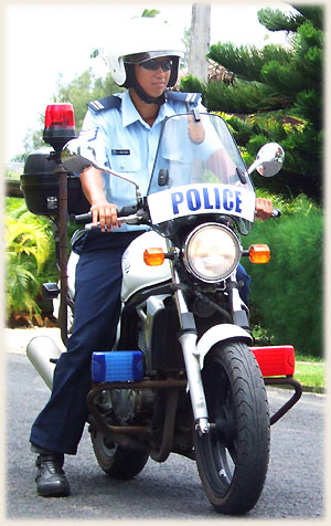 voted most beautyful police officer of the world by Sokala Villas webmaster (and archi has travelled the world extensivly)