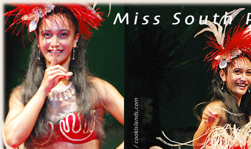 Miss South Pacific 2005/06 - Dorothea George - elected in Tonga