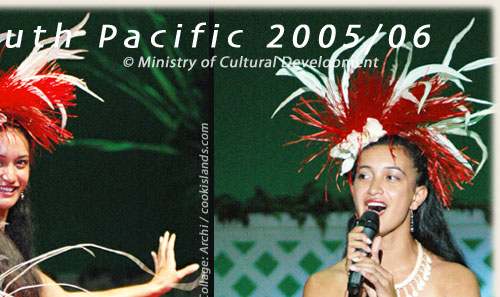 she is a very talented girl from Rarotonga / Cook Islands