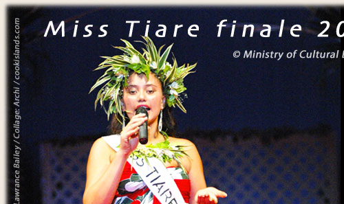 Krystina Tuara from Mangaia / Miss tiare election 2005/06
