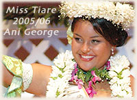 Miss Tiare 2005/ 2006 / photo: Lawrance Bailey