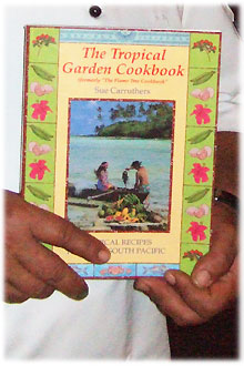 Tropical Garden Cook Book by Sue Carruthers