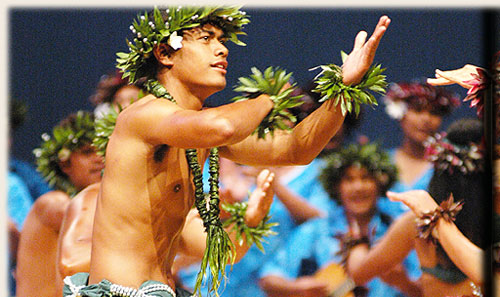 Dance Group from Nukuroa / Mitiaro - Te Maeva Nui 2005 / Cook Islands