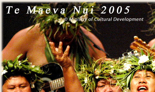 Dance Group from Takitumu / Rarotonga - Te Maeva Nui 2005 / Cook Islands