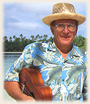 Jacke - wellknown and famous singer on Rarotonga